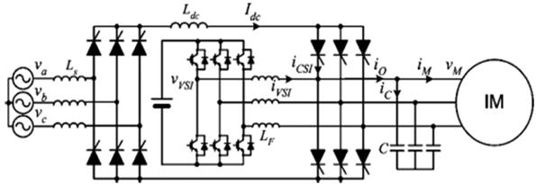 اینورتر ترکیبی منبع جریان و ولتاژ