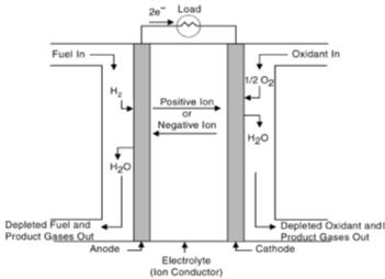 ساختار پیل سوختی
